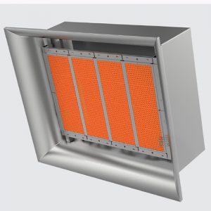 ecod16 seramik plakalı radyant ısıtıcı atölye ısıtma sistemleri