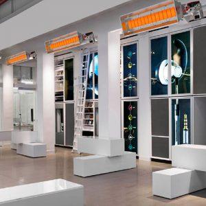 ecol mağaza sergi salonu ısıtma sistemleri