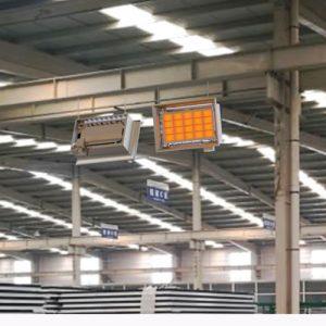 ecod seramik radyant ısıtıcı ile fabrika ısıtma sistemleri