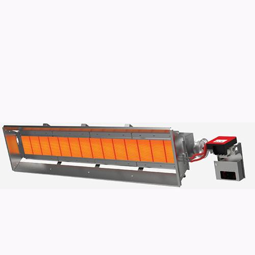 ecol14 seramik radyant ısıtıcı fabrika ısıtılması atölye cami imalathane ısıtma sistemleri
