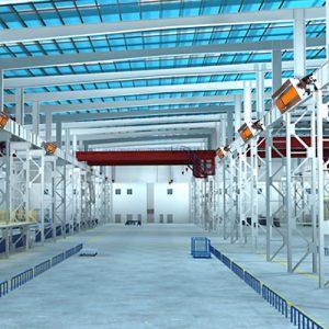 ecol seramik radyant fabrika galeri imalathane ısıtma sistemleri