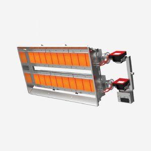 ecol20 seramik radyant sanayi fabrika ısıtma sistemleri