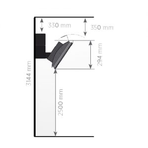 hg seramik radyant ısıtıcı montaj ölçüleri ve yükseklik değerleri